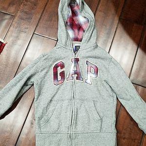 GUC Gap KIDS Zip front Hoodie  Size S (6/7)